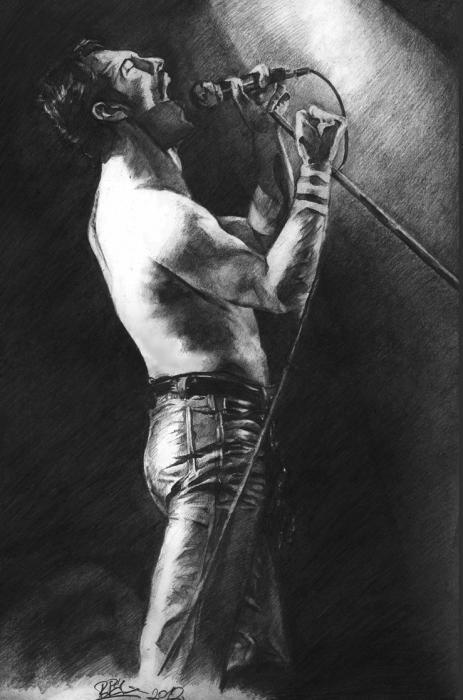 Freddie Mercury by Bielu